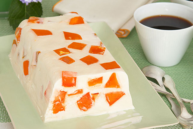 Orange Dream Ice Cream Cake Image 1