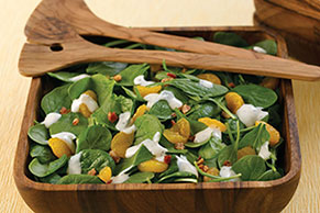 Orange-Spinach Salad