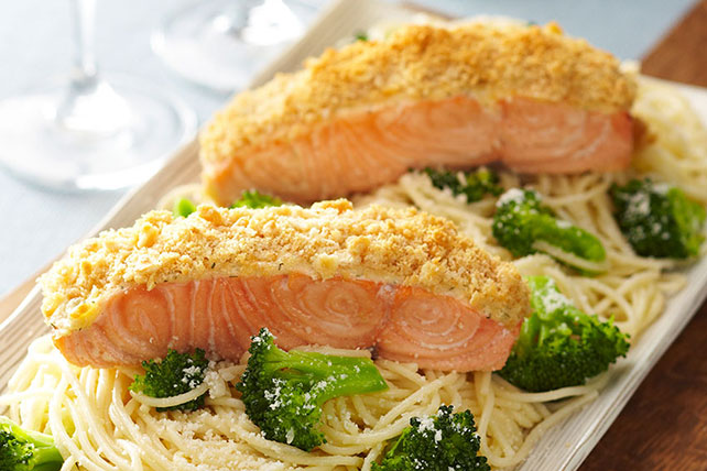 Oven-Roasted Salmon for Two