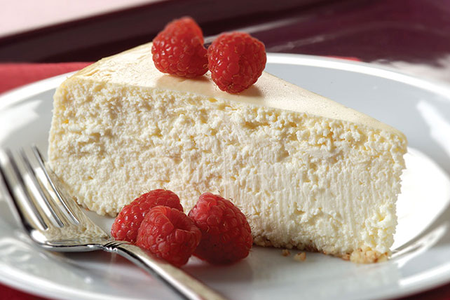 PHILADELPHIA New York-Style Almond Crust Cheesecake