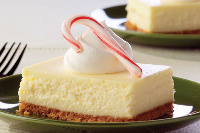 PHILADELPHIA White Chocolate-Peppermint Cheesecake Image 1