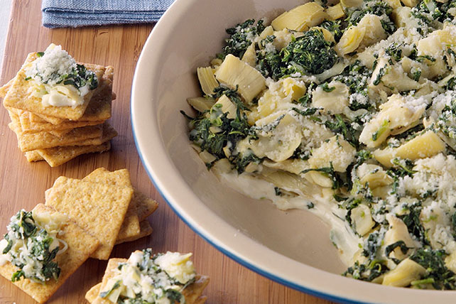 PHILLY Spinach Artichoke Dip Image 1