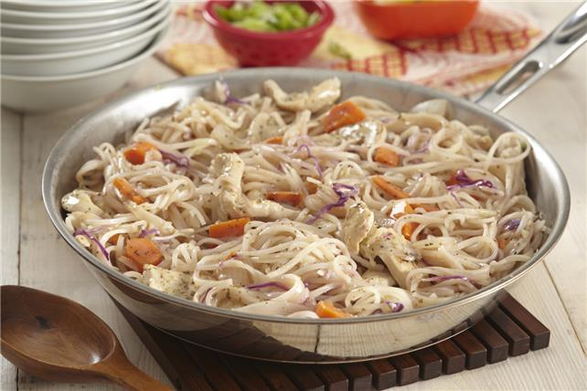 Pancit Noodles with Chicken Image 1