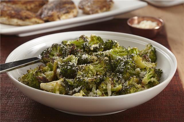 Parmesan-Roasted Broccoli Image 1