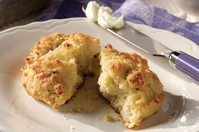 Parmesan Herb Drop Biscuit Recipe Image 1