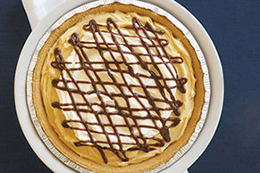 Fudgy Peanut Butter Cream Pie