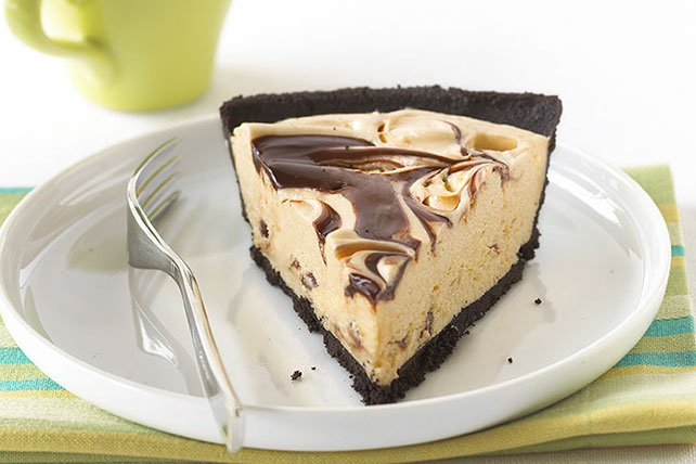 Peanut Butter & Fudge Swirl Pie Image 1