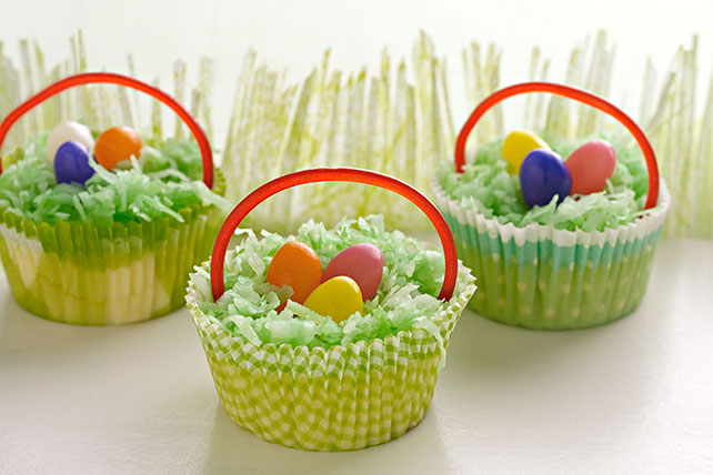 Mini Cheesecake Baskets Image 1