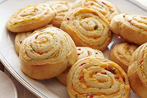 Pimento-Cheese Pinwheels