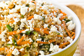 Quinoa with Feta & Vegetables