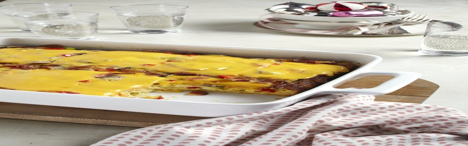 VELVEETA® Cheesy Hash Brown Bake Image 2