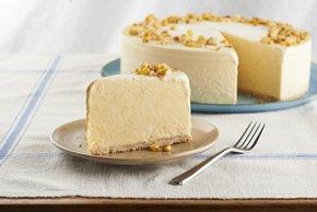 Cremoso pastel de helado y maíz dulce