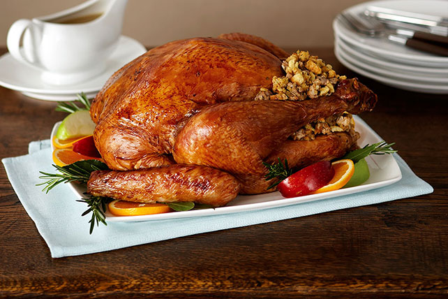 Roast Turkey With Sausage Stuffing Kraft Recipes
