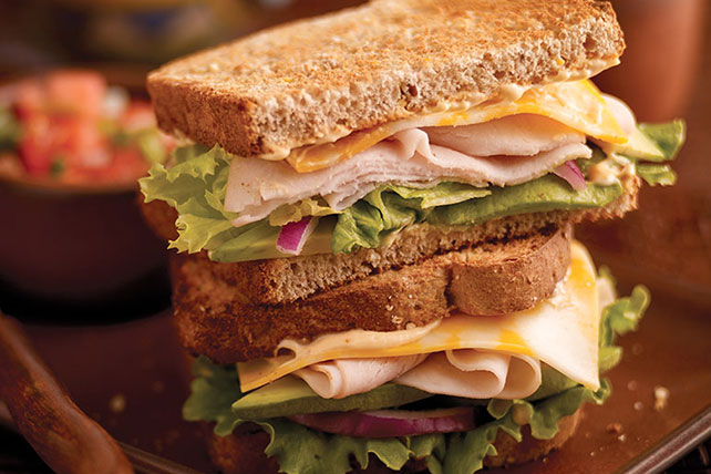 Santa Fe Turkey Sandwich Image 1