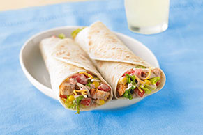 Santa Fe Chicken Salad Wrap