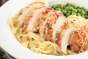 Saucy Parmesan Chicken