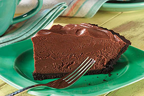 Simple Chocolate Mousse Pie