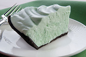 Simple Grasshopper Mallow Pie