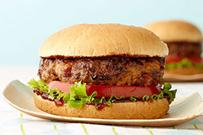 Sizzlin' BBQ Bacon Cheeseburgers