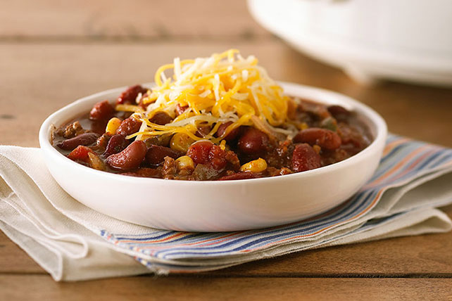 Slow-Cooker Hearty Beef Chili Image 1