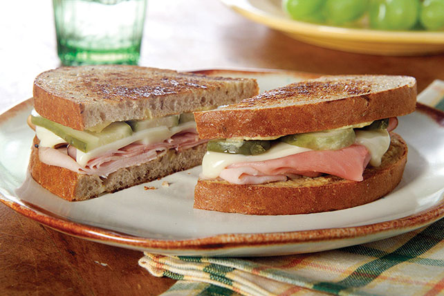 Smoked Ham and Turkey Combo Sandwich