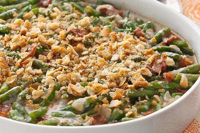 Smoky Green Bean Casserole Image 1