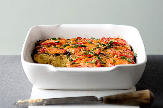Easy Stuffing-Egg Bake Image 1