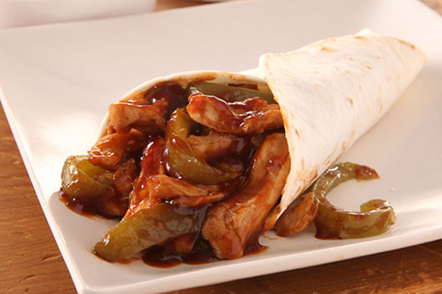 Southwestern Chicken Wraps Image 1