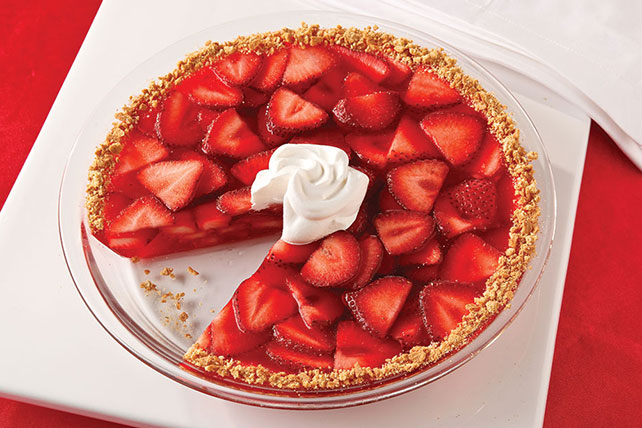 Strawberry Fruited Pie Image 1