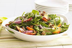 Summer Fresh Spinach Salad
