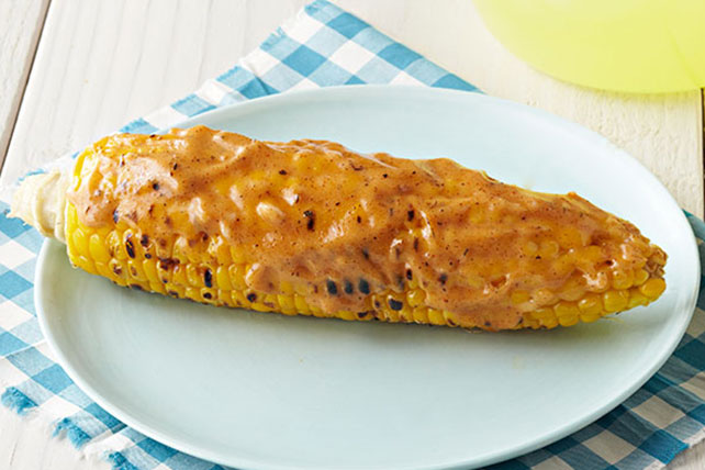 Sweet Mesquite BBQ Corn on the Cob