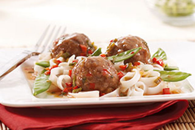 KRAFT RECIPE MAKERS Sweet & Sour Meatballs Image 1