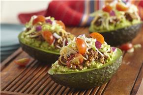 Taco-Stuffed Avocado