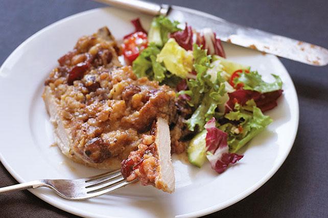 Tangy Pork Chop Stuffing Bake Image 1