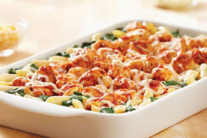 Cheesy Chicken Florentine