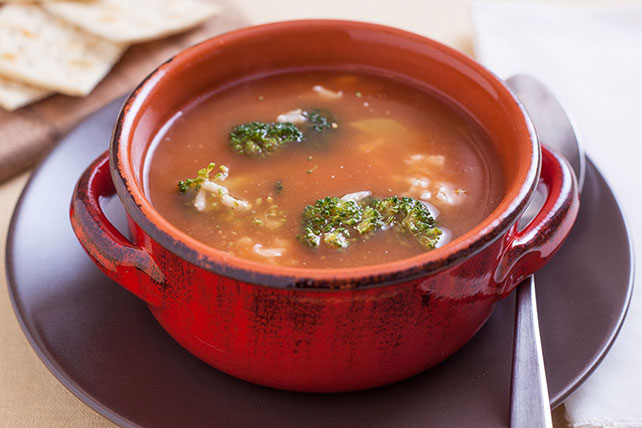 Tomato & Broccoli Soup