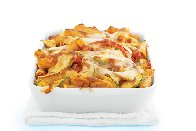 Tuscan Vegetable Baked Ziti Image 1