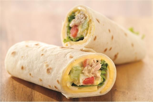 Tuna Salad Wrap Image 1