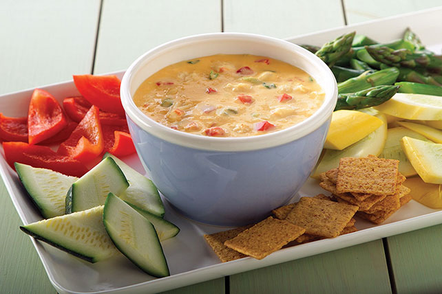 VELVEETA® Hot 'N Cheesy Crab Dip Image 1