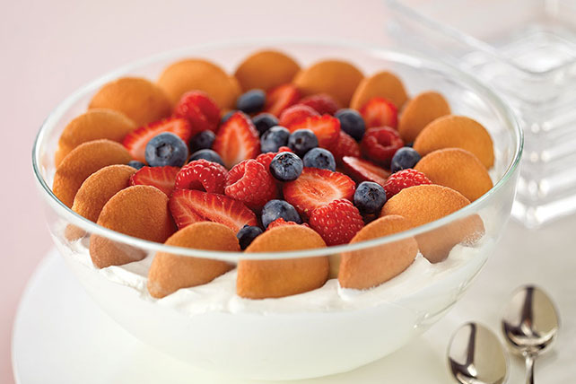 Vanilla-Berry Trifle in a Cloud