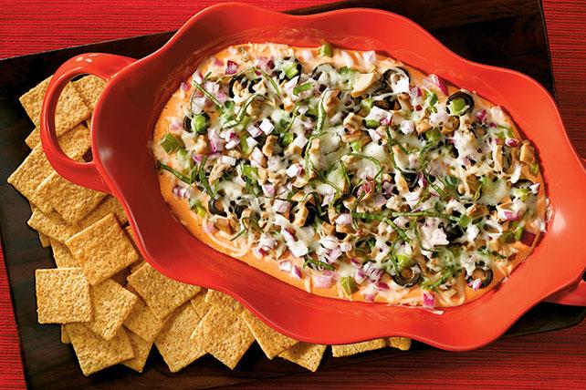 Veggie Pizza Dip Image 1