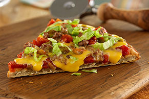 VELVEETA® Spicy Cheeseburger Pizza