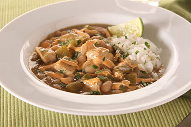 KRAFT RECIPE MAKERS Verde Chicken Chili Image 1