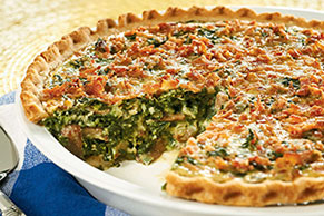 Weeknight Cheese Quiche