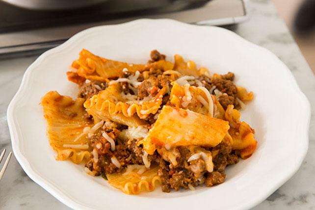 Weeknight Lasagna Toss Image 1