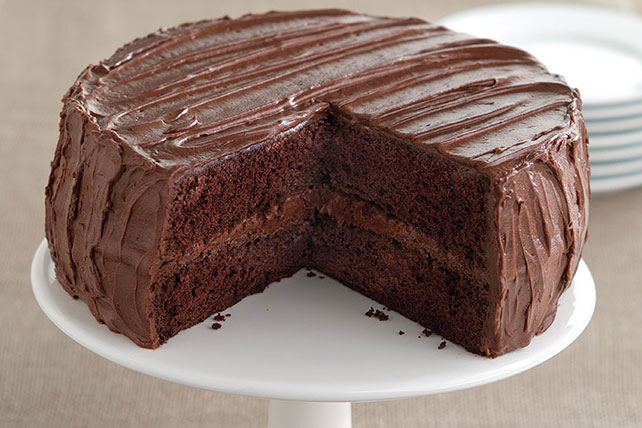Moist Chocolate Fudge Layer Cake Recipe