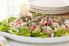 White Bean & Roasted Chicken Salad