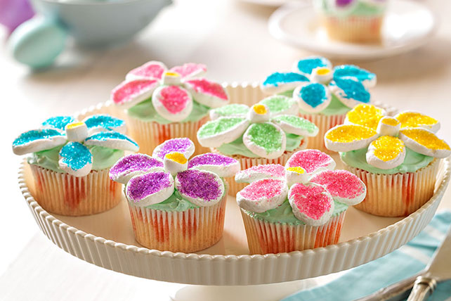Flower Power Cupcakes Image 1
