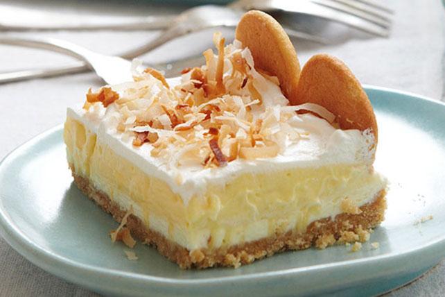 Layered Coconut Cream Cheesecake Bars Image 1