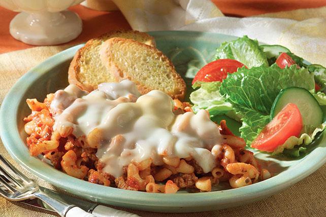 Mozzarella Pasta Bake Image 1